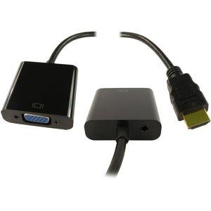HDMI (M) to SVGA (F) & Audio (F)
