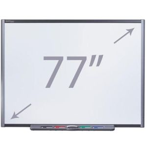 "SMART Board M680 77"" Whiteboard with Pen Tray"