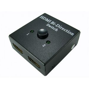 Two Port Manual HDMI Switch