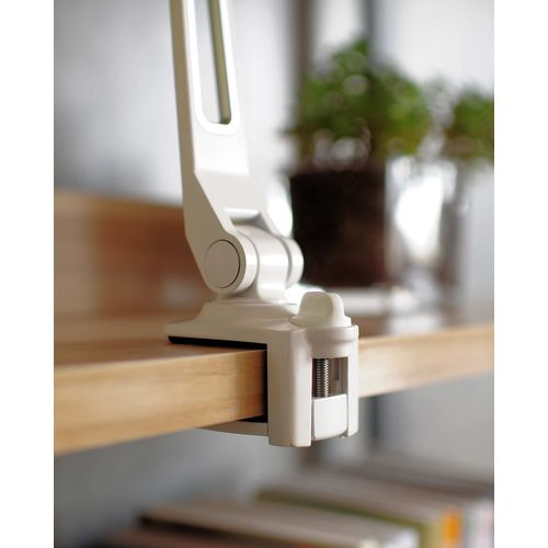 Smartphone Tablet & iPad Holder White Desktop Clamp