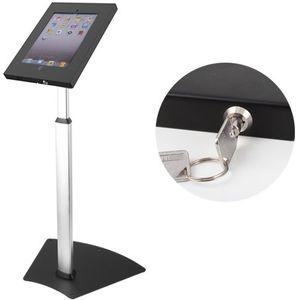 Height Adjustable iPad Air Floor Stand with Lock