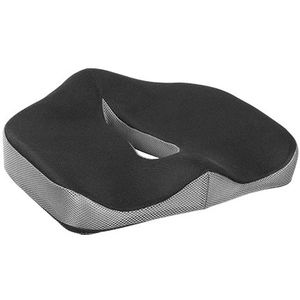Memory Foam Seat Cushion for Back Pain Relief for the Office, Home & Car