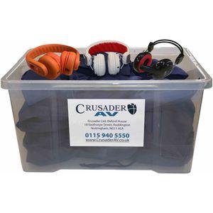 Classroom Headphone Set - Your Choice of Headphone