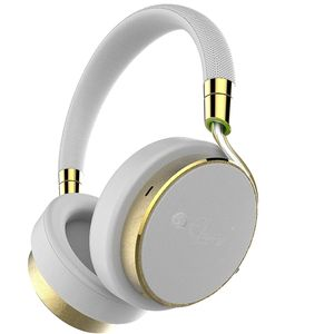 Active Wired Noise Cancelling Headphones - White