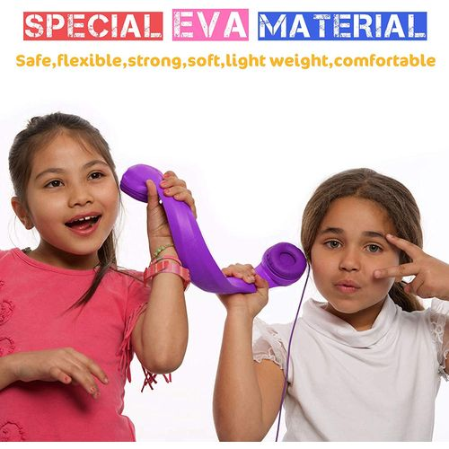 Almost unbreakable kids robust flexible long lasting childrens headphone