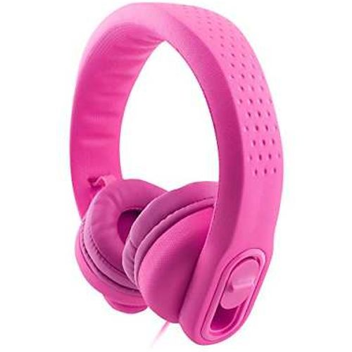 Almost Unbreakable Kids Headphones Pink 85Db Sound Limited
