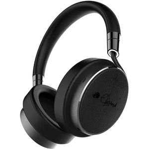 Active Noise Cancelling Headphones Wired - Black