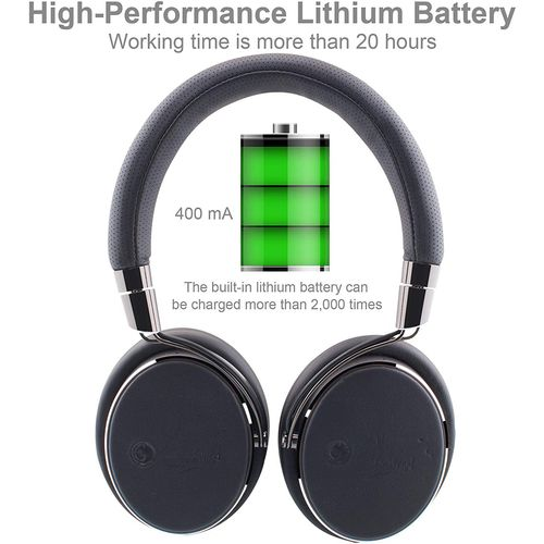 Active wired elesound NC100 Noise Cancelling Headphones