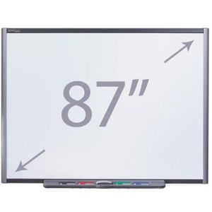 "Smart Board M685 87"" Whiteboard with Pen Tray"