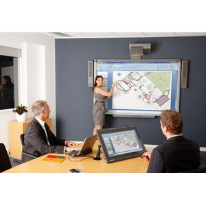 SMART Board 800 Series Whiteboard with Projector & SBA-