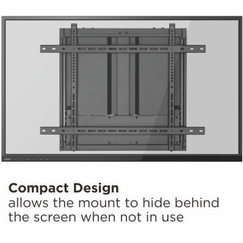 """Height-Adjustable Wall Mount For Interactive Displays (for 50""""- 65"""" displays)"""