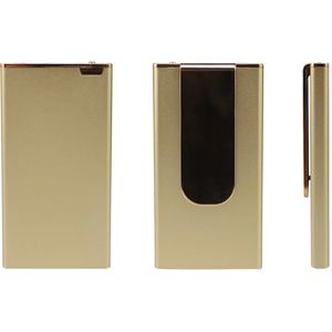 Ultra Compact Power Bank Charger Gold