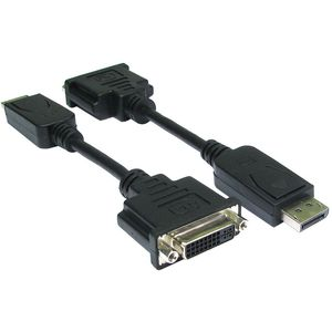 DisplayPort (M) to DVI (F) Adaptor