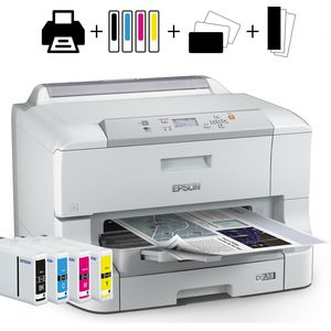 PACK - Epson WorkForce Pro Business Inkjet WF8010DW