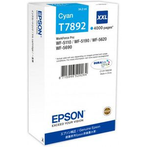 Epson DURABrite Ultra XXL Cyan Ink (4,000 pages)