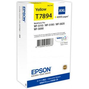 Epson DURABrite Ultra XXL Yellow Ink (4,000 pages)