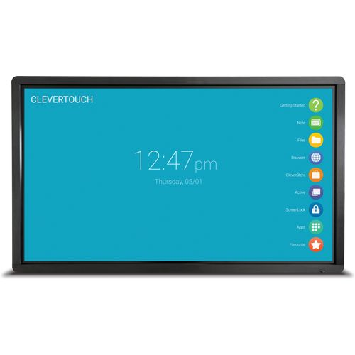 "Clevertouch Pro LUX Series 75"" 4K 20 point touch"