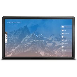 Clevertouch Plus LUX Series 4K 20 Point Touch