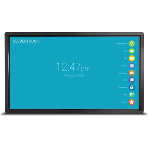 "Clevertouch Pro LUX Series 86"" 4K 20 point touch"