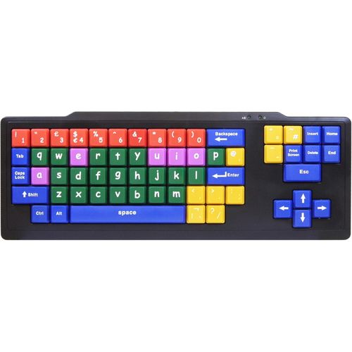 Colour Coded Kids Keyboard