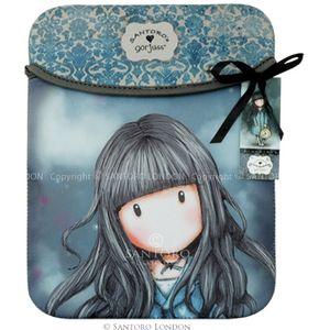 Santoro Eclectic - Gorjuss iPad Sleeve - White Rabbit