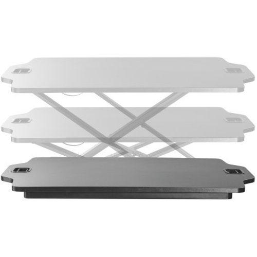 Ultra Slim Gas Sprung Sit-Stand Laptop Workstation
