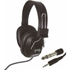 Stereo/Mono Quality Headphone with 3.5 and 6.3mm plugs