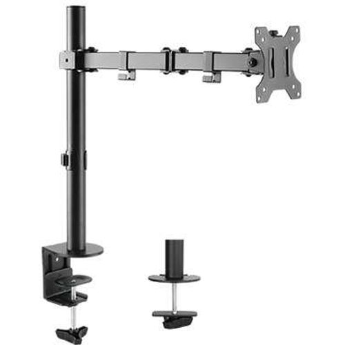 Single Monitor Arm Double Joint Articulated (desk clamp)