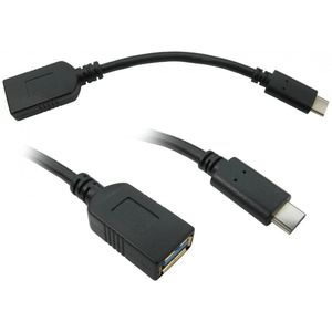 USB 3.0 Type C (M) to Type A (F) Cable