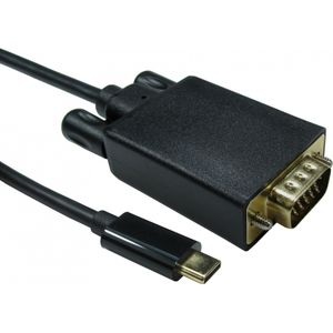 USB C (M) to VGA (M)