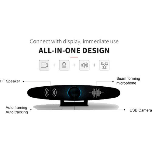 All in One 4k Video Camera & Sound Bar