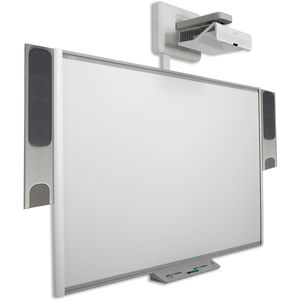smart Board M680 with Hitachi AX3006E Projector & SBA-L Speakers