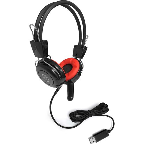 Robust Heavy Duty virtually unbreakable headphones with microphone and detachable USB cable