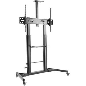 Heavy Duty Height Adjustable Mobile Screen Stand - 100Kgs