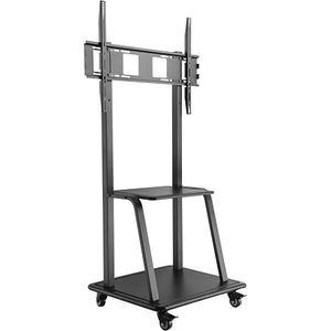 Ultra-Heavy Duty Steel Mobile Screen Stand - 150Kgs