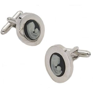 Cameo Mother & Child Cufflinks