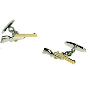 Air Rifle Gun Cufflinks