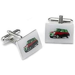 Red Mini Car Cufflinks