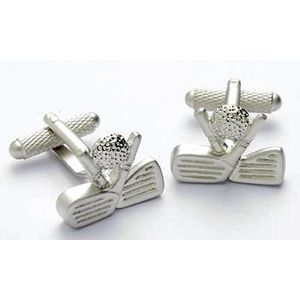 Golf Club Heads & Golf Ball Cufflinks