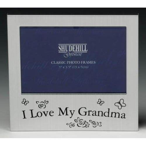 """I Love my Grandma 5x3.5"""" photo frame."""