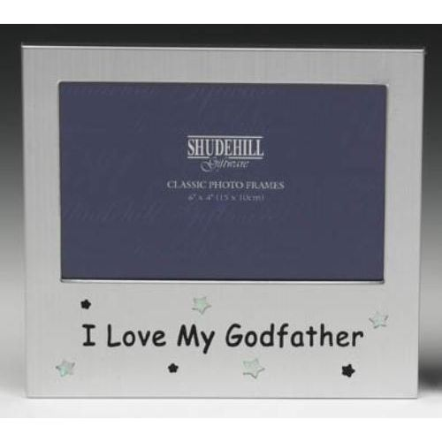 I Love my Godfather Photo Frame