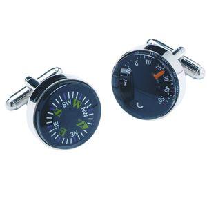 Compass & Thermometer Cufflinks