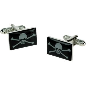 Jolly Roger Pirate Flag Cufflinks