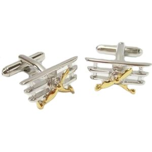 Traditional Tri-plane Cufflinks