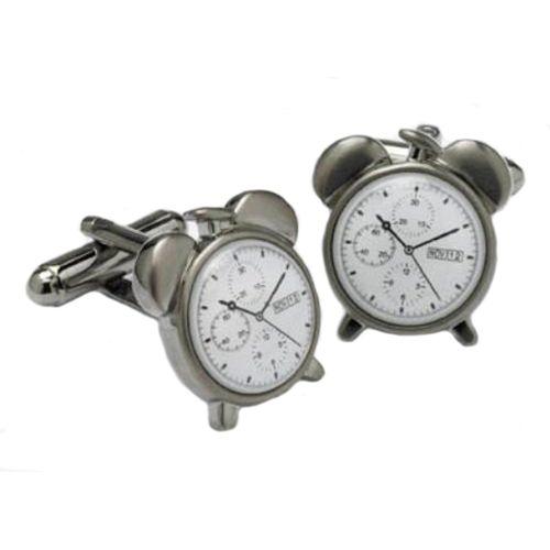 Alarm Clock Cufflinks