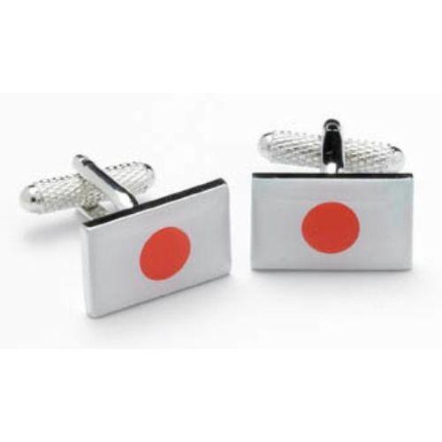 Japanese Flag Cufflinks