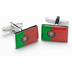 Portugal Flag Cufflinks