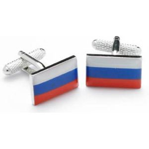 Russia Flag Cufflinks