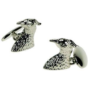Sterling Silver Falcon Cufflinks