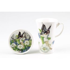Country Artists Fairy Way Mug & Coaster Set - Hedgebell Fairy
